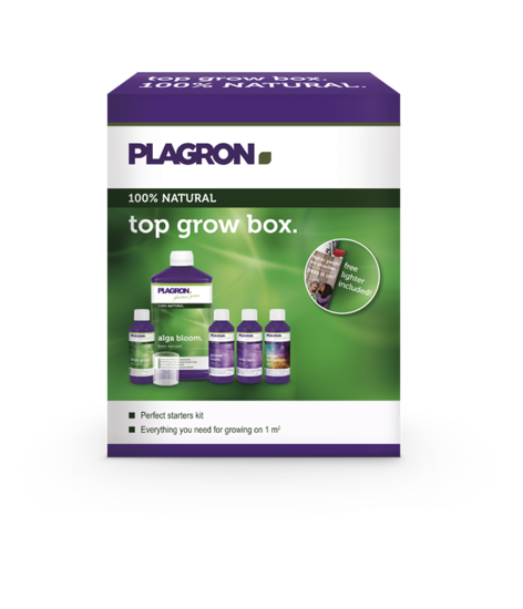Top Grow Box 100% NATURAL sada